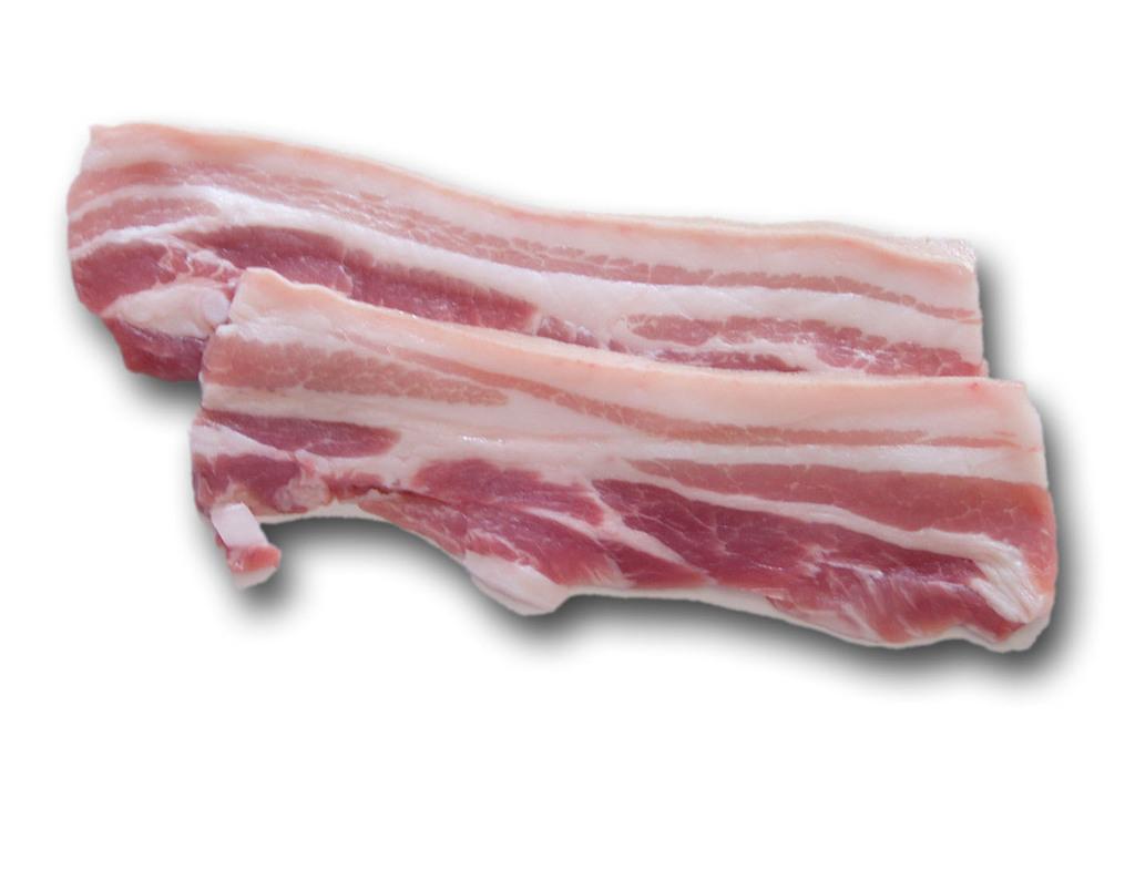 Bacon gesneden