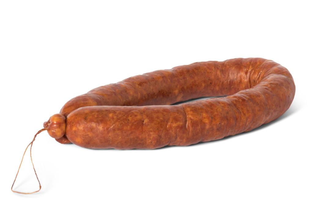 Rookworst varken